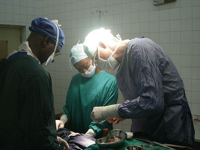 Kinderchirurgischer Einsatz